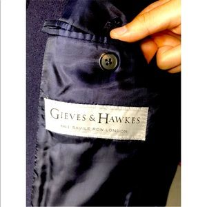 Gieves & Hawkes Navy Jacket (size 48R - M)
